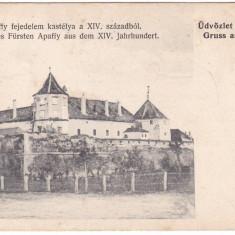 #Z.2293- Romania, Fogaras carte postala nedivizata necirculata: Castelul Apaffy, Fotografie, Fagaras