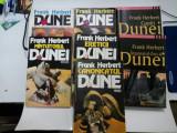 FRANK HERBERT - DUNE - 7 volume - editie completa -Nemira 1992-2003