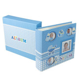 Album foto Baby Four 10x15, 200 poze, personalizabil, 50 file cartonate