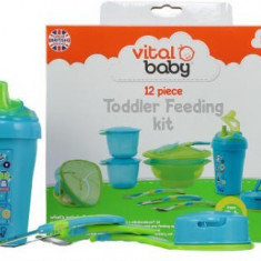 Pachet Toddler feeding 9+, Vital Baby