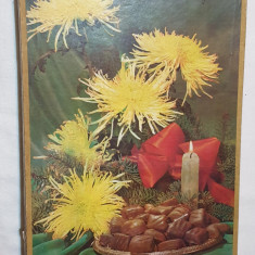 Cutie veche comunista de colectie Bomboane EXTRAfine de ciocolata 1982 RARA