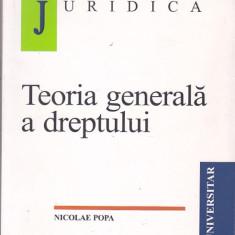 NICOLAE POPA - TEORIA GENERALA A DREPTULUI