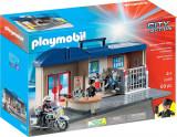 Playmobil City Action - Set mobil statie de politie