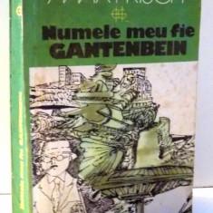 NUMELE MEU FIE GANTENBEIN de MAX FRISCH , 1981
