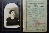 LEGITIMATIE / CARNET DE IDENTITATE PENTRU CFR - 1935, VIZE PENTRU ANII 1935-1938, Romania 1900 - 1950, Documente