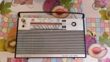 RADIO SIMONETTA COMBI 200N, 11 TRANZISTORI . FUNCTIONEAZA DOAR PE FM . AN 1968