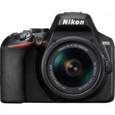 Aparat foto DSLR Nikon D3500, 24.2MP, Negru + Obiectiv AF-P 18-55mm VR