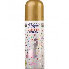 Spray Stralucitor AURIU Pentru Par Si Corp Orkide Glitter Spray 90 ml