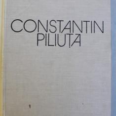 CONSTANTIN PILIUTA - PEISAJELE AMINTIRI - cuvant inainte de FANUS NEAGU , text de CONSTANTIN PRUT , 1983 , LIPSA SUPRACOPERTA *