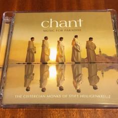 The Cistercian Monks - CHANT Music for Paradise (2 CD - uri originale, Ca noi!)