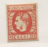 1869-CAROL CU FAVORITI ,H. GALBUIE ,VERMILLON.T1., Nestampilat