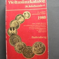 Catalog  de  monede  sec. XX., prezinta peste 10000 monede, aprox. 3000 foto