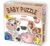 Cumpara ieftin Baby Puzzle Farm animals