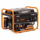 Generator Daewoo GDK5000E 4.5kW max 5kW starter electric cu roti si manere