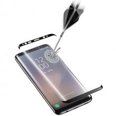 Sticla Securizata Full Body Curved Negru SAMSUNG Galaxy S8 Plus, CellularLine