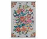 Covor tip pres Gardens White 75x150 cm