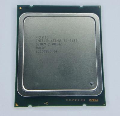 Procesor server Intel Xeon E5-2630L SR0KM Six Core 2Ghz Socket 2011 foto