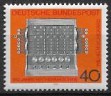 Germania - 1973 - Mașina de calculat - serie completă MNH (T127), Nestampilat
