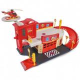 Cumpara ieftin Pista de masini Pentru Copii, Dickie Toys Fireman Sam Fire Rescue Center cu elicopter si accesorii