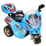 Mini Motocicleta electrica C051 35W cu 3 roti STANDARD Albastru