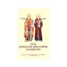 Slujba Sfintilor Cuviosi Rafael si Partenie de la Agapia Veche