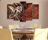 Set 5 tablouri Browny