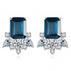 Cercei Lady Sapphire Blue Green