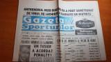 gazeta sporturilor 6 noiembrie 1994-meciul de tenis demonstrativ borg-nastase