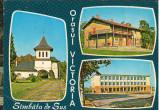CPI B 12187 ORASUL VICTORIA, SAMBATA DE SUS, MOZAIC, Necirculata, Fotografie