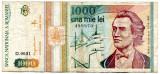 Bancnota 1000 lei 1993
