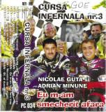 Caseta Nicolae Guta Si Adrian Minune–Eu M-am Smecherit Afara-Cursa Infernala Nr3, Casete audio