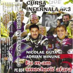 Caseta Nicolae Guta Si Adrian Minune–Eu M-am Smecherit Afara-Cursa Infernala Nr3