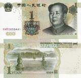 CHINA 1 yuan 1999 UNC!!!