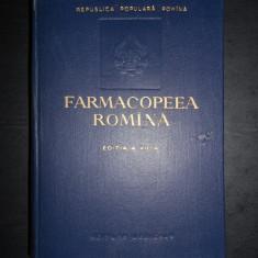 FARMACOPEEA ROMANA (1956, editia a VII-a)