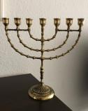 Sfesnic evreiesc / menora pt.7 lumanari model deosebit 30 cm
