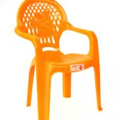 Scaun STERK cu brate pentru copii din masa plastica Raki