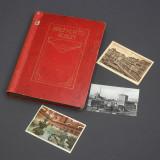 Album vechi cu 193 carti postale alb-negru si color 1890-1920 din Europa.