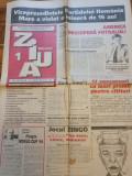 Ziarul ziua anul 1,nr. 1 - 15 iunie 1994-prima aparitie-campionatul mondial SUA