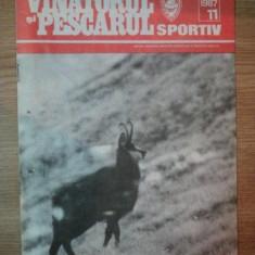 REVISTA ''VANATORUL SI PESCARUL SPORTIV'', NR. 11 NOIEMBRIE 1987