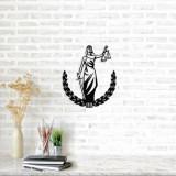 Cumpara ieftin Decoratiune pentru perete, Ocean, metal 100 procente, 49 x 57 cm, 874OCN1056, Negru