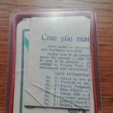 JOC VECHI ROMANESC CINE STIE MAI MULTE  POVESTI IPBT COMPLET CU INSTRUCTIUNI
