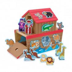 Set de joaca din lemn Arca lui Noe, Melissa and Doug