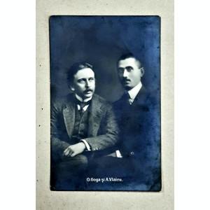 O. Goga si A. Vlaicu - Foto tip CP