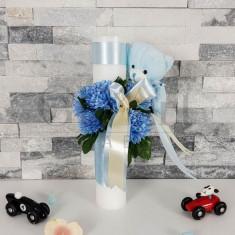 Lumanare Elegant Baby Blue