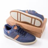 Pantofi casual barbati albastri Hisiri