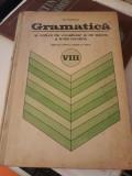 MANUAL GRAMATICA CLASA VIII NOTIUNI DE VOCABULAR SI DE ISTORIE A LIMBII ROMANE, Clasa 8, Matematica