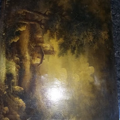 Tablou vechi pictat pe panza fara rama,pictura semnata Superba,T.GRATUIT, Portrete, Ulei, Realism