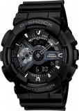 Ceas Sport Casio G-SHOCK GA-110 ALL Black-NOU ! NEGRU -CALITATEA 1- !!!!, Quartz, Cauciuc