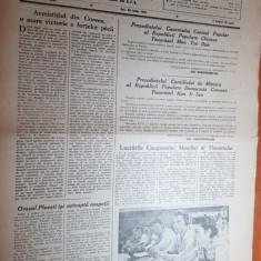 Sportul popular 30 iulie 1953-orasul ploiesti isi asteapta oaspetii,volei,