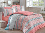 Set lenjerie pentru pat dublu Hobby, 113HBY2509, Multicolor